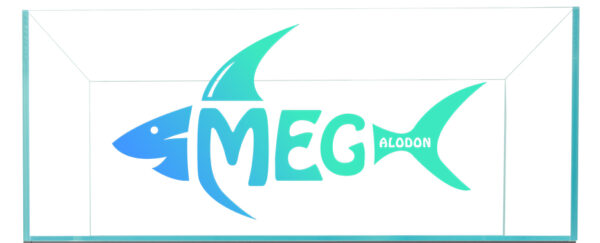 Megalodon Transparent Logo With Tank