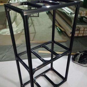 TITAN 2ft 3tier Rack Black