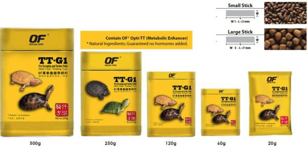 Pro Terrapins And Turtles Food Pellet